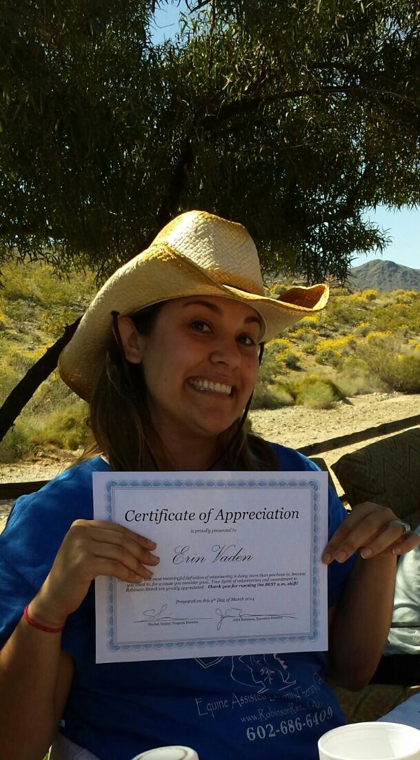 Robinson Ranch Volunteers Appreciation Breakfast and Trail ride