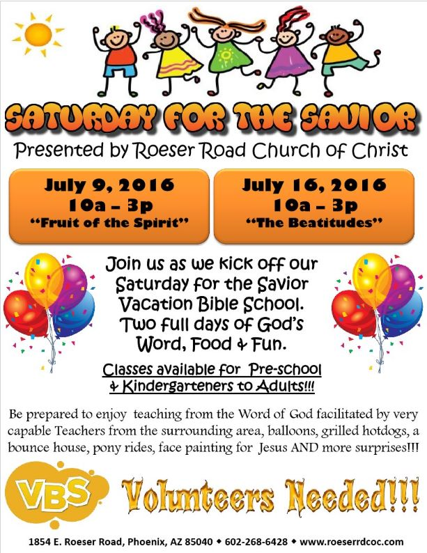 Bible Camp for Kids & Adults
